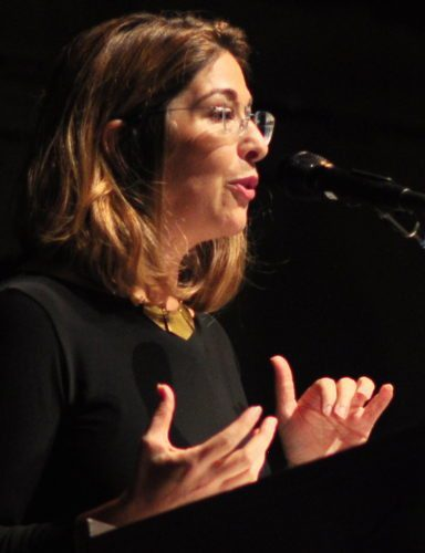 Naomi Klein in Seattle