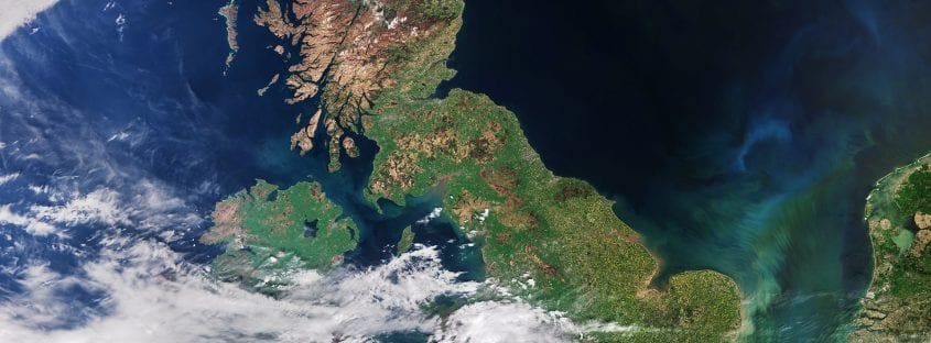 UK satellite image